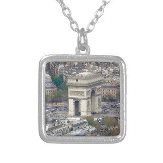 Arco del Triunfo París Francia Colgante Cuadrado