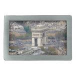 Arco del Triunfo París Francia Hebillas Cinturon
