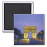 Arco del Triunfo, París, Francia, Imán Para Frigorifico