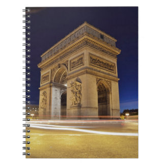 Arco del Triunfo, París, Francia Libretas Espirales