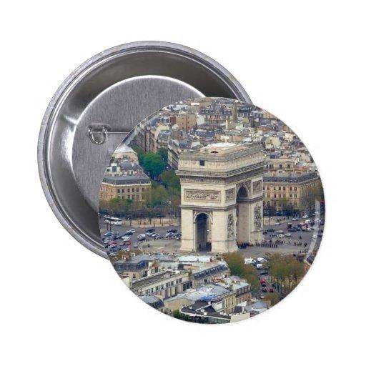 Arco del Triunfo París Francia Pins