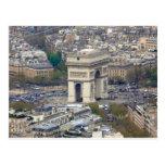 Arco del Triunfo París Francia Postales