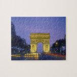 Arco del Triunfo, París, Francia, Puzzle
