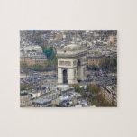 Arco del Triunfo París Francia Puzzle Con Fotos