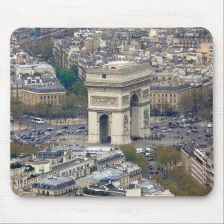 Arco del Triunfo París Francia Tapete De Ratón