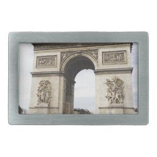 Arco del Triunfo, París Hebillas De Cinturon Rectangulares