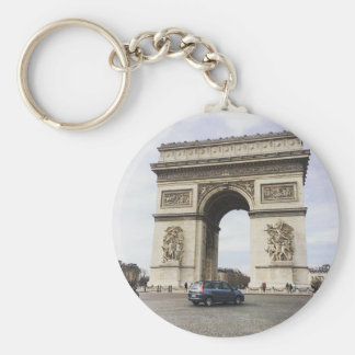Arco del Triunfo, París Llavero Redondo Tipo Pin