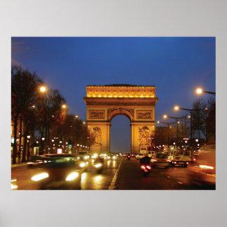 Arco del Triunfo Póster