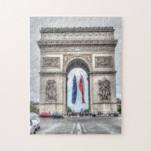 Arco del Triunfo Puzzles Con Fotos