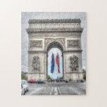 Arco del Triunfo Rompecabeza Con Fotos