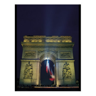 Arco del Triunfo Tarjeta Postal