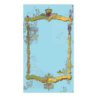 Arco del Triunfo y corona Tarjetas De Visita