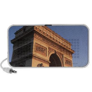 ARCO DEL TRIUNFO y torre Eiffel iPhone Altavoz