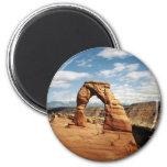 Arco delicado, arcos parque nacional, Utah Imán