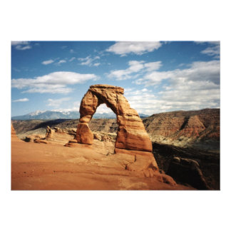 Arco delicado arcos parque nacional Utah