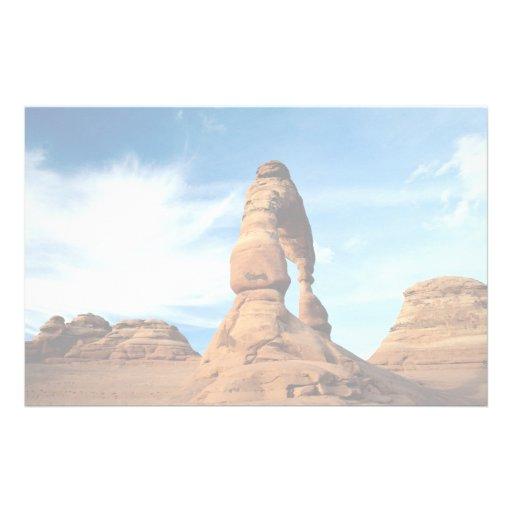 Arco delicado, arcos parque nacional, Utah, los E. Papeleria De Diseño