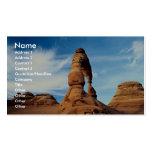 Arco delicado, arcos parque nacional, Utah, los E. Tarjeta De Visita