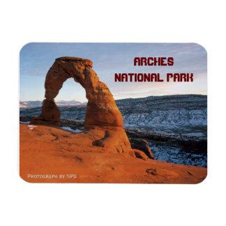 Arco delicado, imán del parque nacional de los arc