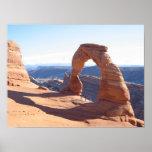 Arco delicado - parque nacional de los arcos impresiones