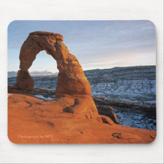 Arco delicado, parque nacional Mousepad de los arc