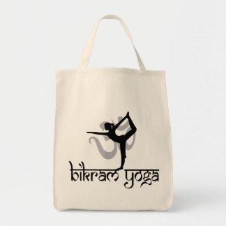 Arco derecho que tira del regalo de la yoga de Bik Bolsa Tela Para La Compra