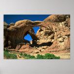 Arco doble, arcos parque nacional, Utah Impresiones