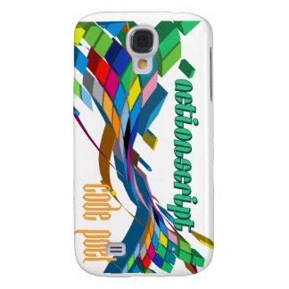 Arco doble multicolor de ActionScript- Funda Para Galaxy S4