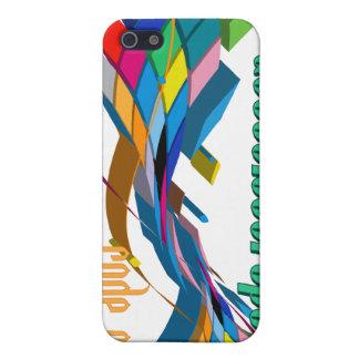 Arco doble multicolor de ActionScript- iPhone 5 Carcasa