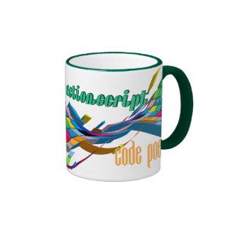 Arco doble multicolor de ActionScript- Taza A Dos Colores