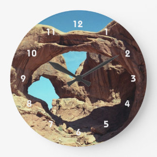 Arco doble relojes de pared