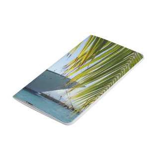 Arco enmarcado palma cuaderno