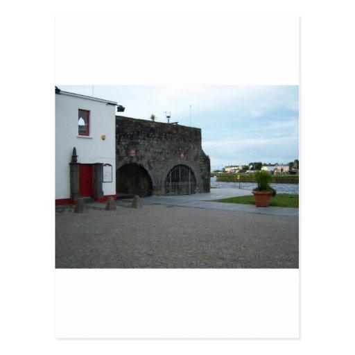 Arco español postal