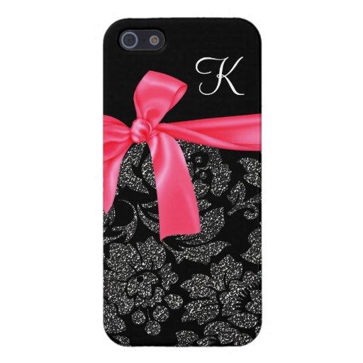 Arco femenino de las rosas fuertes del falso iPhone 5 carcasas