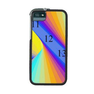 Arco iris 11/12/13 del cromo del caso del iPhone 5