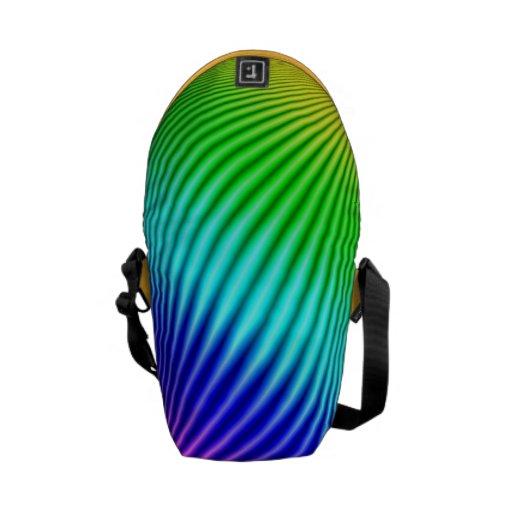 Arco iris 1 bolsa de mensajeria