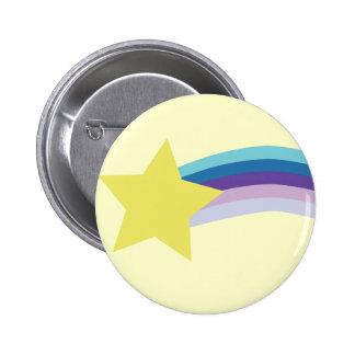 arco iris 80s pin