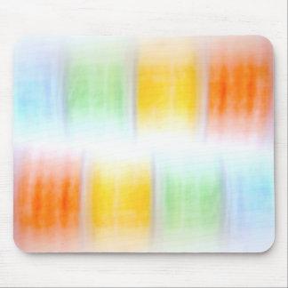 arco iris abstracto alfombrilla de ratón