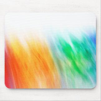arco iris abstracto alfombrillas de ratón