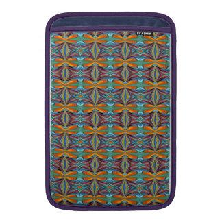 Arco iris abstracto artístico del diseño de los fundas para macbook air