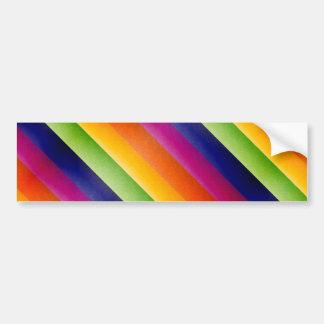 Arco iris abstracto pegatina para auto