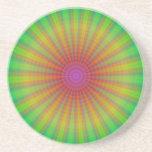 Arco iris abstracto de Starburst del teñido anudad