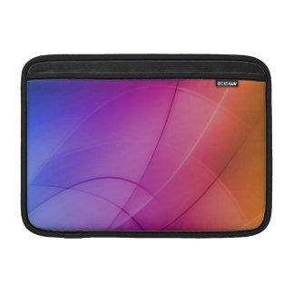 Arco iris abstracto hermoso funda macbook air