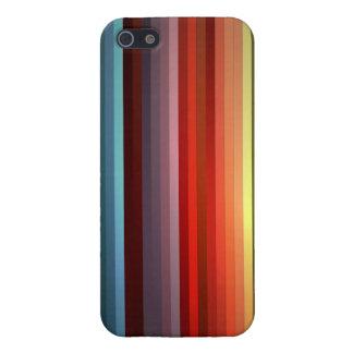 Arco iris abstracto iPhone 5 carcasa