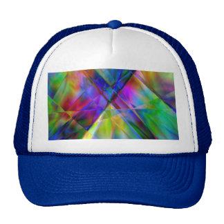 Arco iris Abstrract Gorros