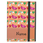 Arco iris anaranjados en colores pastel conocidos