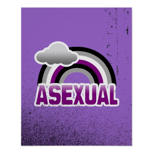 ARCO IRIS ASEXUAL POSTERS