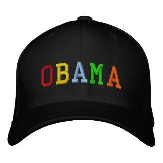 Arco iris Barack Obama Gorra De Beisbol