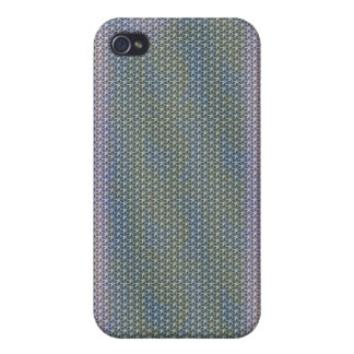 Arco iris Bling metálico iPhone4 iPhone 4/4S Carcasa