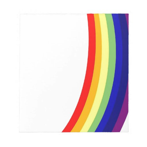 Arco iris blocs de papel