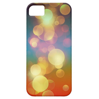 Arco iris Bokeh iPhone 5 Case-Mate Fundas
